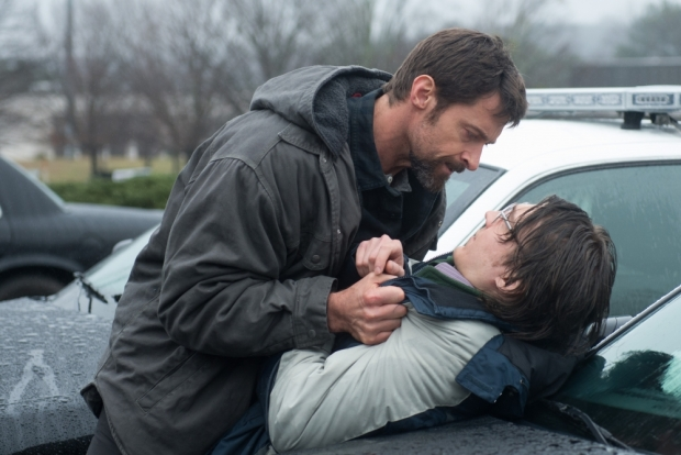 Hugh Jackman and Paul Dano in Prisoners